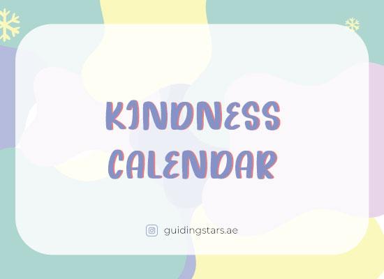 kindness calender